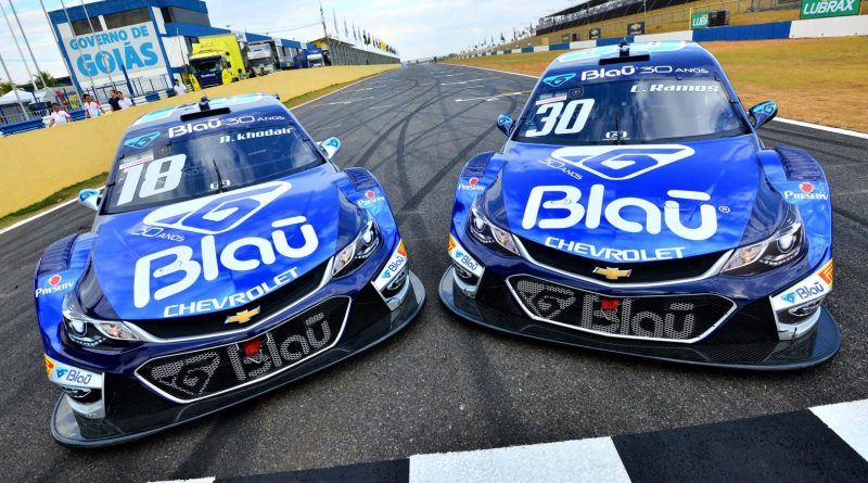 Stock Car: Blau Motorsport terá pintura especial em azul cromado na Corrida do Milhão