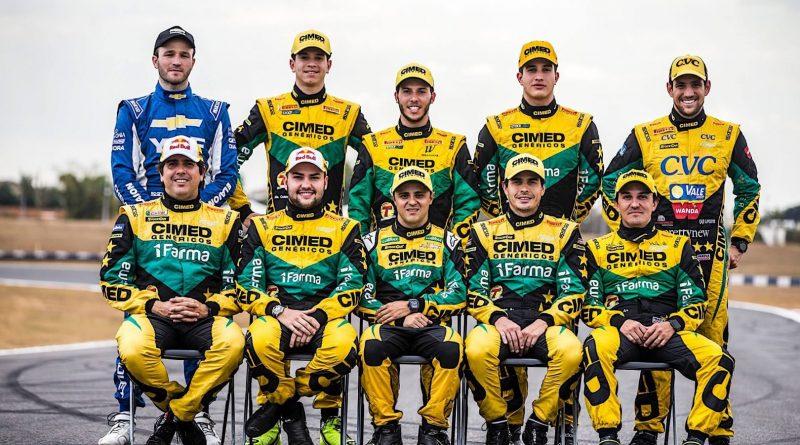 Corrida do Milhão marca recorde da Stock Car: 7 pilotos pela primeira vez em um time na Cimed Racing
