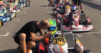 Guilherme Figueiredo ressalta bom trabalho na preparação para o Mundial de Kart, na Suécia
