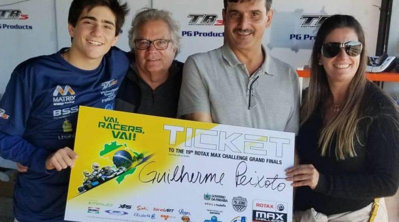 Kart: Guilherme Peixoto é campeão da Copa Rotax e conquista vaga para o Rotax Max Finals