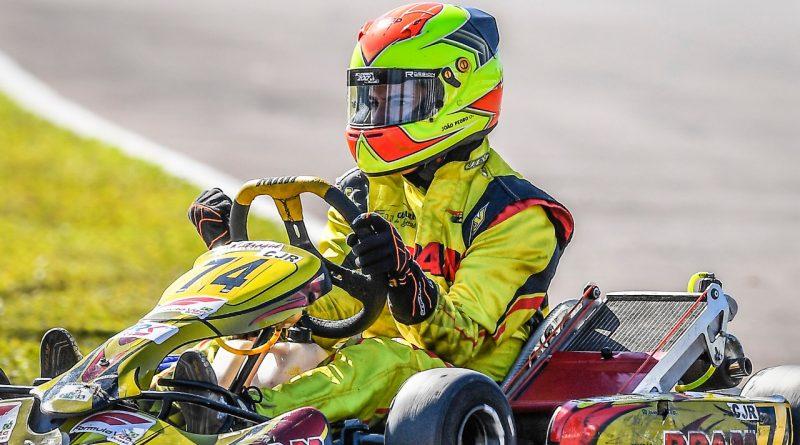Kart: Campeão sul-americano, João Pedro Maia comemora a conquista de seu maior título