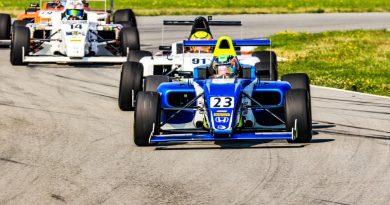 Fórmula 4 Americana: Kiko Porto marca seus primeiros pontos