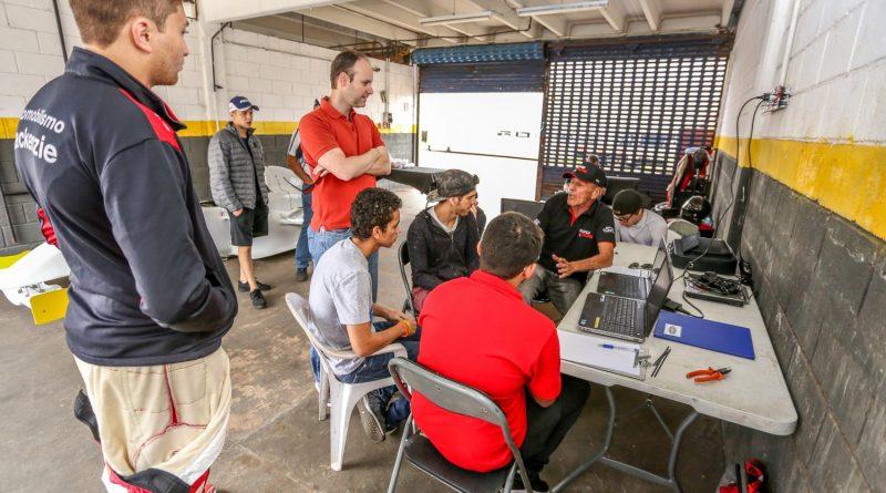 Fórmula Academy Sudamericana realiza testes em Interlagos