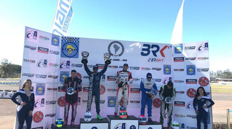 Kart: Luciano Tavares conquistou o vice-campeonato na 1ª edição do Troféu das Américas