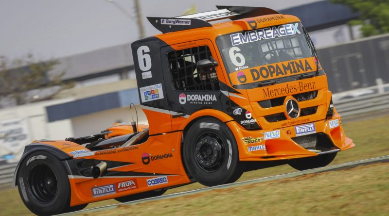 Copa Truck: Cirino aposta em trabalho de equipe para somar mais pontos