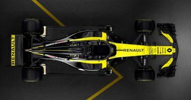 F1: Renault acredita em grande progresso com o carro de 2019