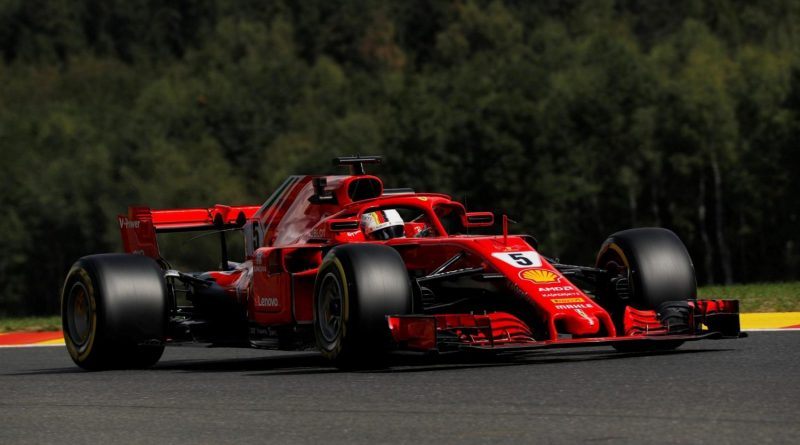 F1: Vettel é o mais rápido no 1º Treino Livre em Spa-Francorchamps