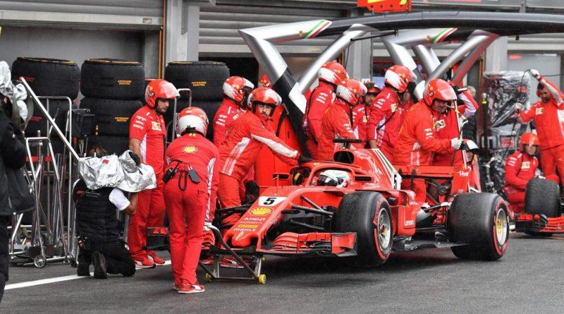 F1: Vettel admite falta de calma em treino na Bélgica