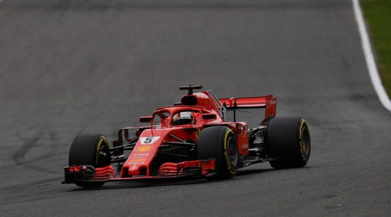 F1: Vettel comanda dobradinha da Ferrari no 2º Treino Livre em Monza