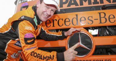 Copa Truck: Cirino confirma favoritismo e crava a pole em Goiânia
