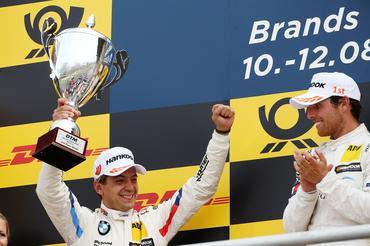 DTM: Augusto Farfus retorna ao pódio no DTM com 2º lugar em Brands Hatch