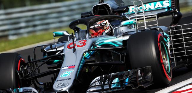 """George Russell vê situação """"anormal"""" de Ocon na Fórmula 1"""