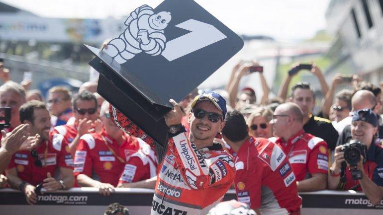 MotoGP: Jorge Lorenzo vence GP da Áustria