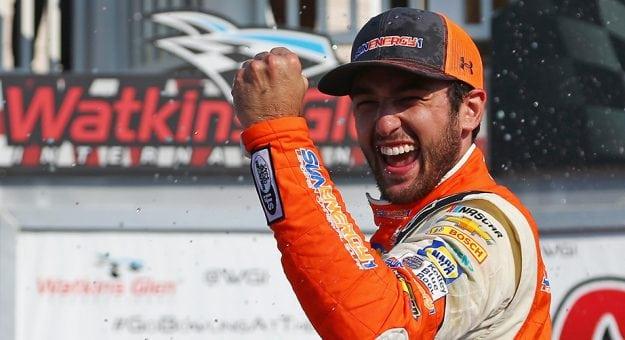 NASCAR Monster Energy Cup Series: Em Watkins Glen Chase Elliot vence pela primeira vez