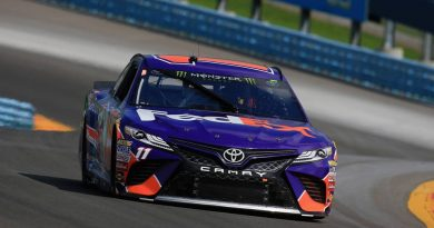 NASCAR Monster Energy Cup Series: Denny Hamlin marca a pole em Watkins Glen