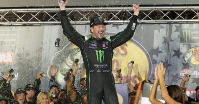 NASCAR Monster Energy Cup Series: Kurt Busch vence em Bristol