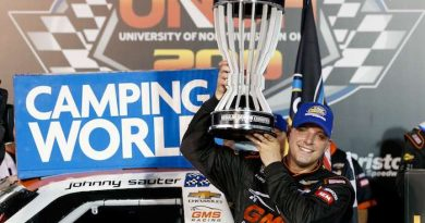 NASCAR Camping World Truck Series: Johnny Sauter vence em Bristol