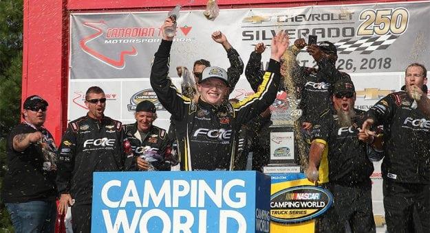 NASCAR Camping World Truck Series: Justin Haley vence no Canadian Tire Motorsport Park