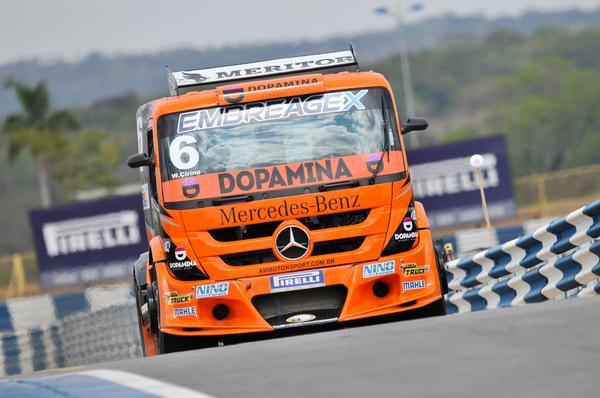 Copa Truck: Wellington Cirino fecha sexta-feira na frente em Goiânia