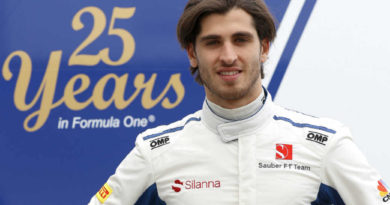 F1: Sauber confirma Antonio Giovanazzi como piloto titular para 2019