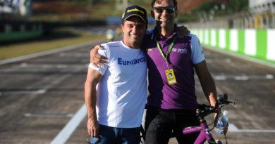 No Dia Mundial Sem Carro, pilotos da Stock Car disputam corrida de bicicleta em Mogi Guaçu