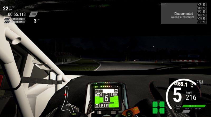 Assetto Corsa Competizione: Volta noturna em Nürburgring