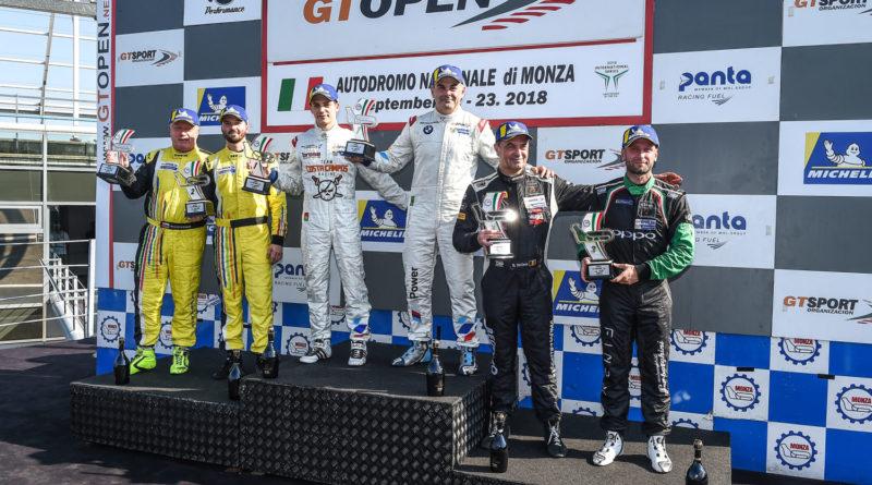 GT Open: Brasileiros Marcio Basso e Guilherme Salas vencem duas vezes em Monza