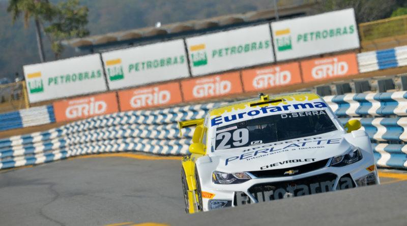 Stock Car: Daniel Serra é o mais rápido no 3º Treino Livre em Londrina