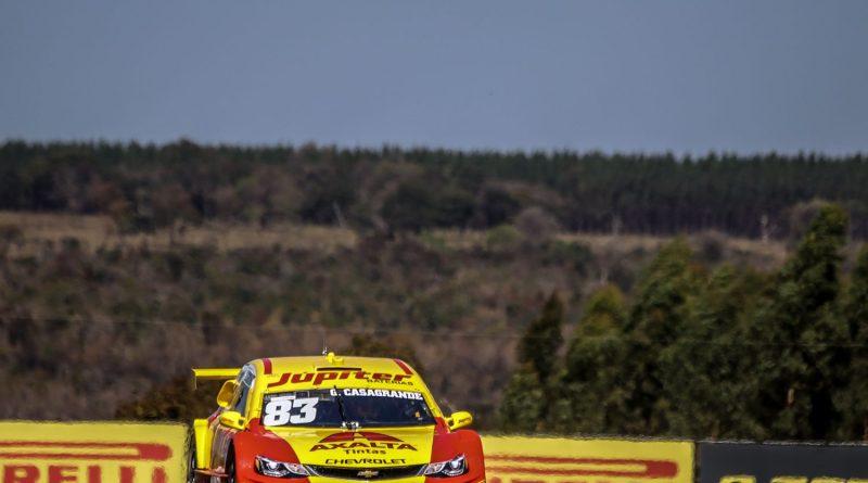 Stock Car: Gabriel Casagrande é o mais rápido do 1º Treino Livre em Mogi Guaçu