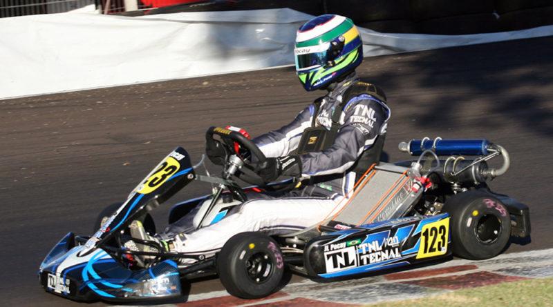 Kart: João Luís Pocay venceu três provas em Pato Branco e conquistou o Campeonato Paranaense