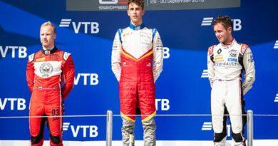 GP3 Series: Leonardo Pulcini e David Beckmann vencem na Rússia