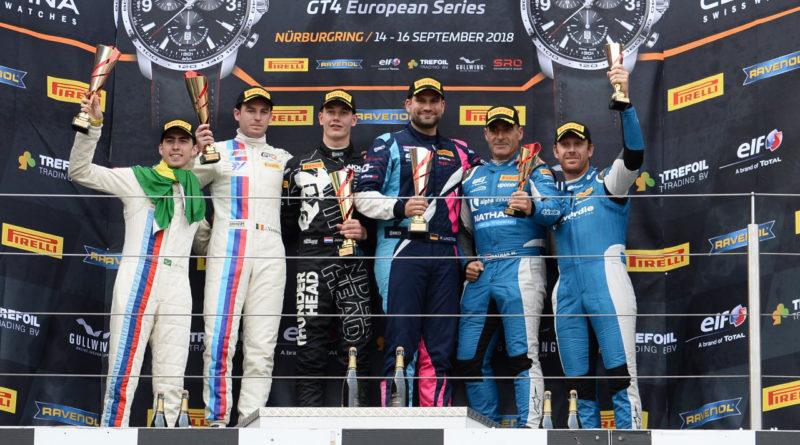 Luiz Otávio Floss encerrou temporada do GT4 European Series com pódio em Nürburgring