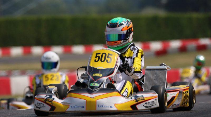 Kart: Ricardo Gracia disputa, na Bélgica, etapa final do Troféu Academia