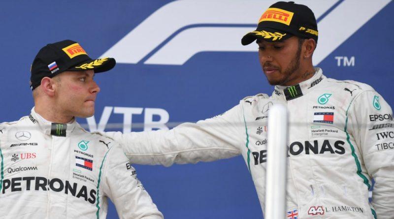 F1: Hamilton elogia Bottas e classifica situação como estranha