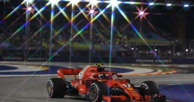 F1: KimiRäikkönen marca o melhor tempo no 2º Treino Livre em Singapura