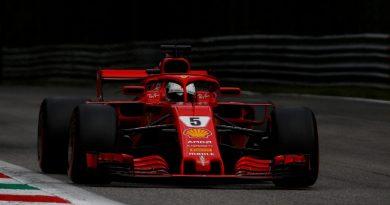 F1: Vettel é o mais rápido no 3º Treino Livre em Monza