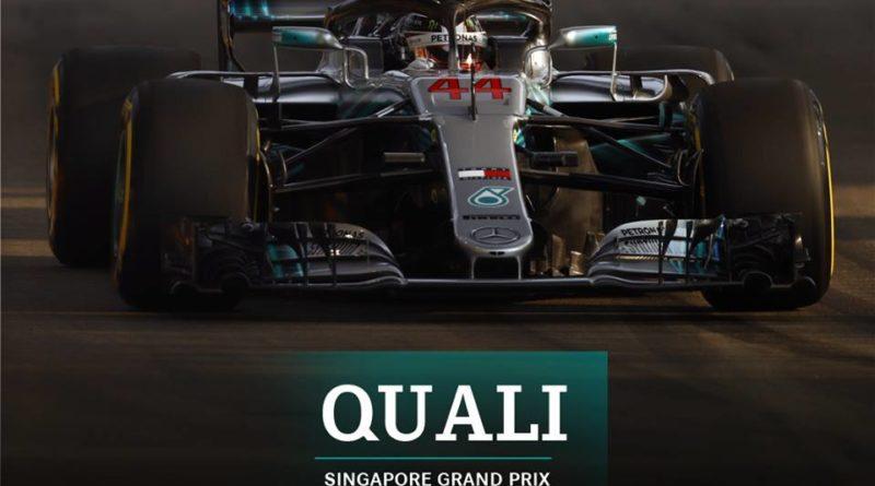 F1: Com novo recorde Lewis Hamilton marca a pole para GP de Singapura