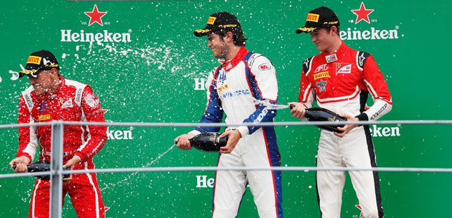 GP3 Series: David Beckmann e Pedro Piquet vencem em Monza