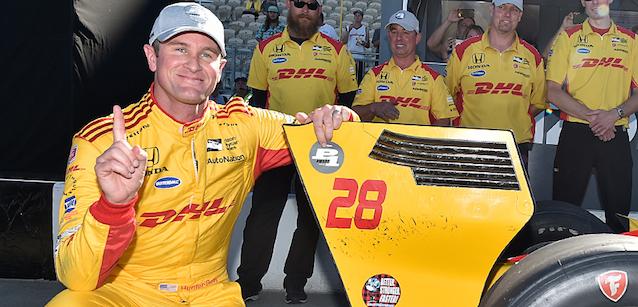 IndyCar: Ryan Hunter-Reay marca a pole em Sonoma