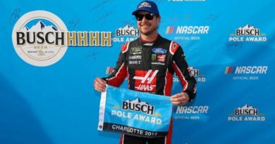 NASCAR Monster Energy Cup Series: Kurt Busch marca a pole em Charlotte