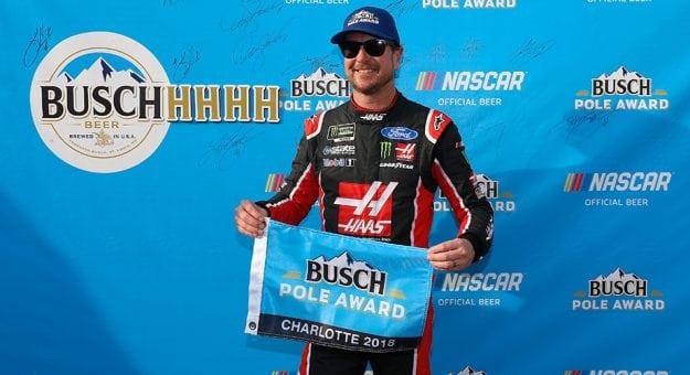NASCAR Monster Energy Cup Series: Kurt Busch marca a pole em Charlotte