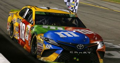 NASCAR Monster Energy Cup Series: Kyle Busch vence em Richmond