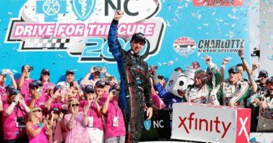 NASCAR XFINITY Series: Chase Briscoe vence em Charlotte