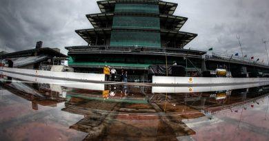 NASCAR Monster Energy Cup Series: Chuva cancela classificatório em Indianápolis. Kyle Busch alinha na pole