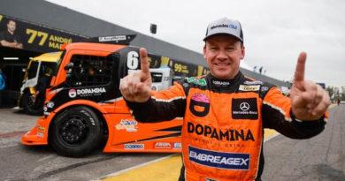 Copa Truck: Rei do sábado, Wellington Cirino faz quarta pole no ano