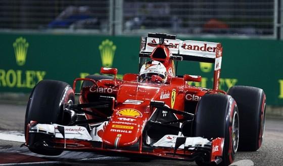 F1: Sebastian Vettel é o mais rápido no terceiro treino livre