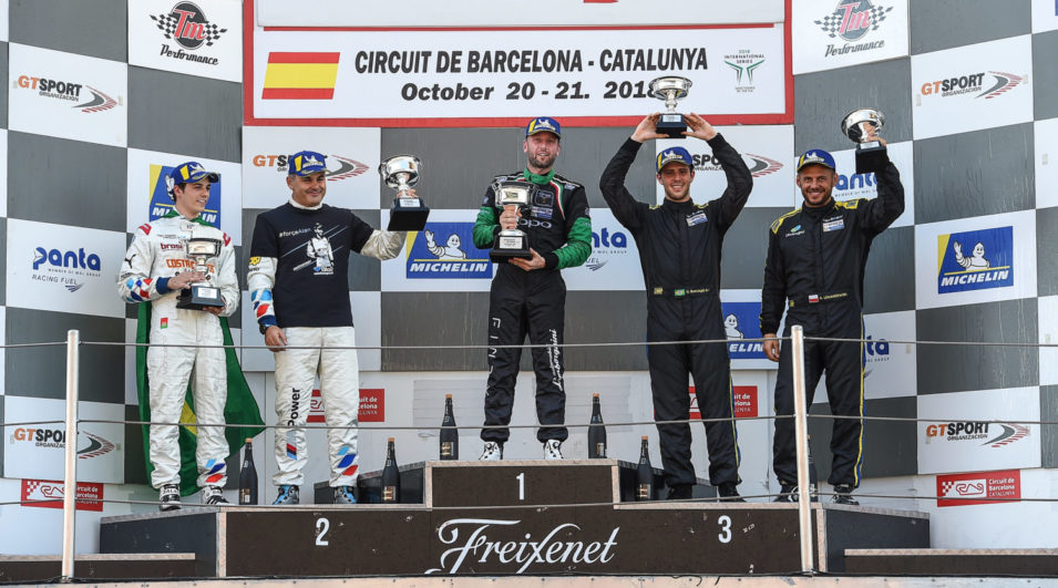 Marcio Basso fecha temporada 2018 da GT Open com pódio e terceiro lugar no campeonato