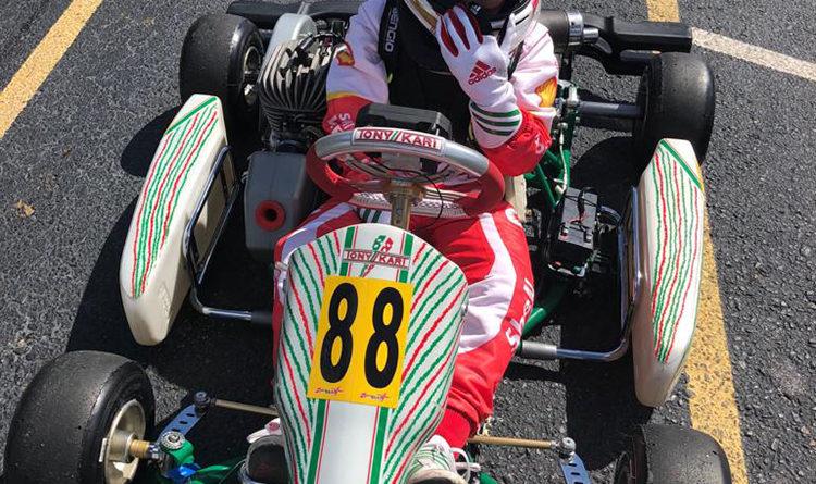 Kart: Bernardo Gentil venceu a Orlando Rok Cup