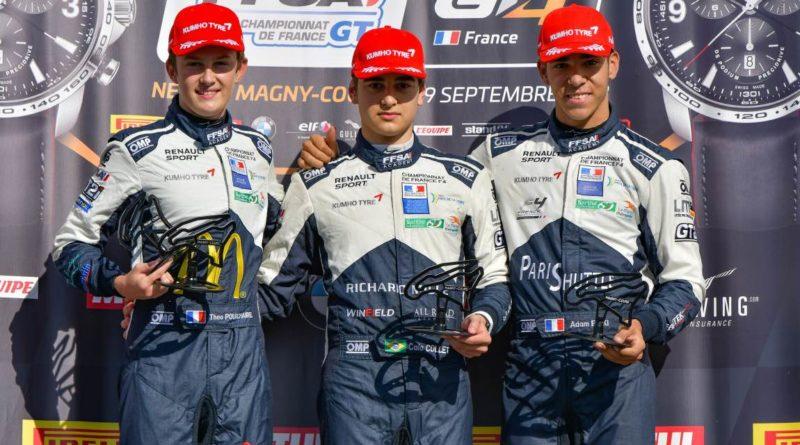 F4 Francesa: Caio Collet vence duas vezes em Jerez e é campeão antecipado