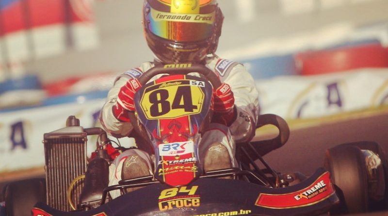 Fernando Croce disputa a 20ª edição da Copa Brasil de Kart